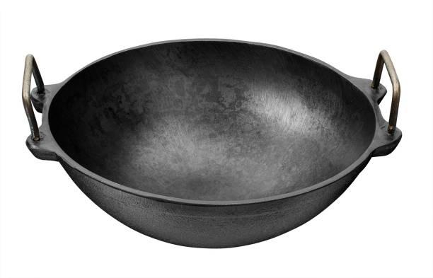 Mr. Butler Natural Cookware Pre-Seasoned Cast Iron 9 Inch Black Kadai/ Wok, 1.5L Capacity 22.86cm Diameter Kadhai 22.86 cm diameter 1.5 L capacity