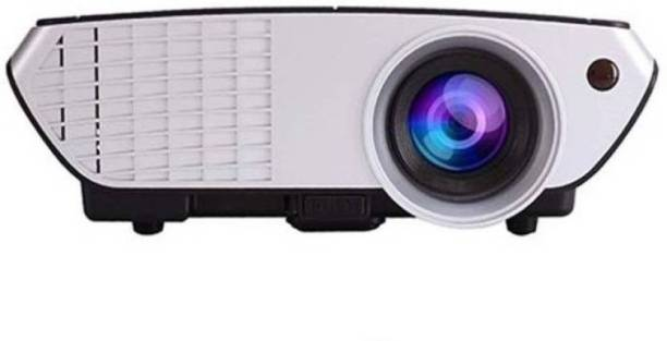 Duksi Latest Full 3D HD Newly Upgraded With Cable/dish Tv Port Large Display Enjoy The Theatre ORIGINALTY With 1 Year Warranty Portable Projector
