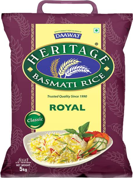 Heritage Royal Basmati Rice (Long Grain)