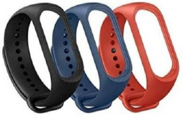 Pocket Whole Strap For Xiaomi Mi Band 3 Smart Band Strap (Black, Blue, red) Smart Band Strap