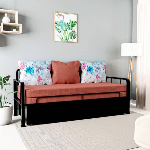 Flipkart Perfect Homes Studio Double Metal Sofa Bed