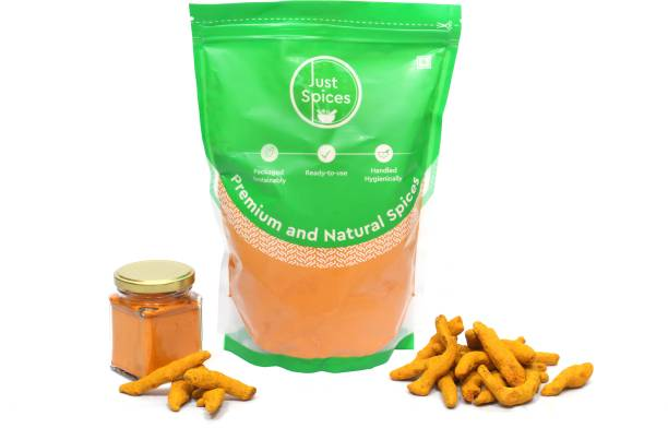 justspices Premium Turmeric Powder (Haldi, Haldar) 500gm
