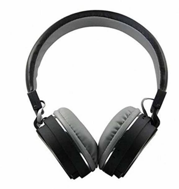 x pulse Wireless Bluetooth Headphone with SD Card Slot (SH - 12) Bluetooth Headset