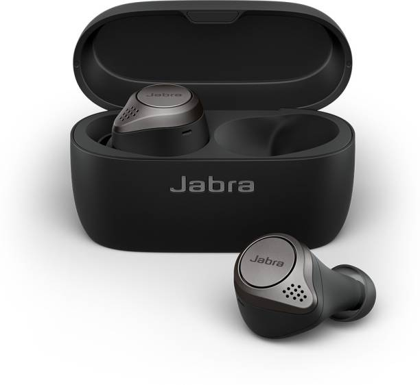 Jabra Elite 75t With Active Noise Cancellation enabled Bluetooth Headset