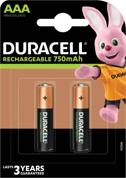 DURACELL Plus A A A - 2 Pcs - 750 mAh  Battery