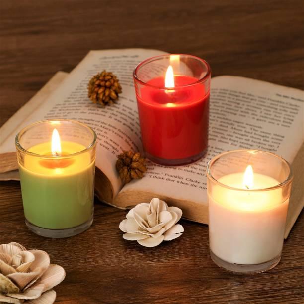 Flipkart SmartBuy Rose, Vanilla & Green Apple Votive Candle