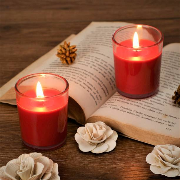 Flipkart SmartBuy Red Rose Votive-2 Candle