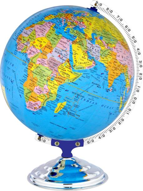 Globate 12 INCH DIAMETER DESK AND TABLE TOP POLITICAL World Globe