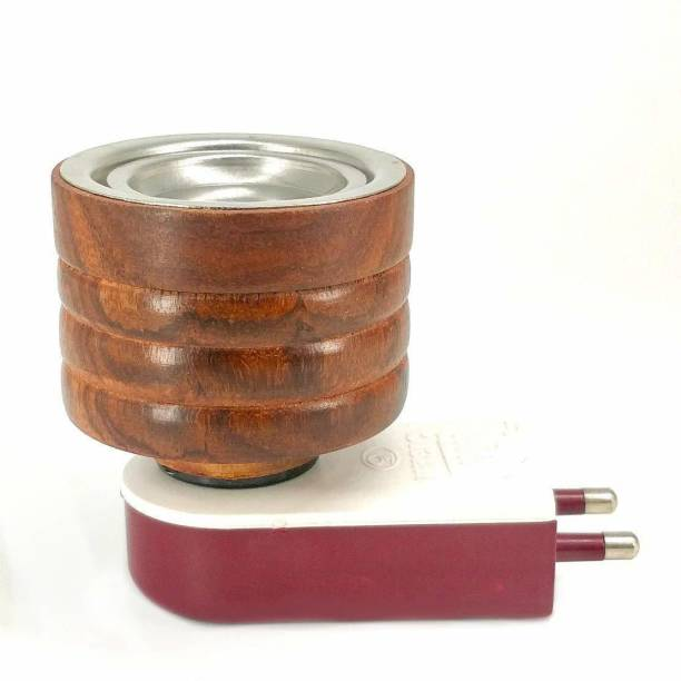 SUKAI JEWELS Electric Kapoor Dani Dhoop Wooden Stand Wooden Incense Holder