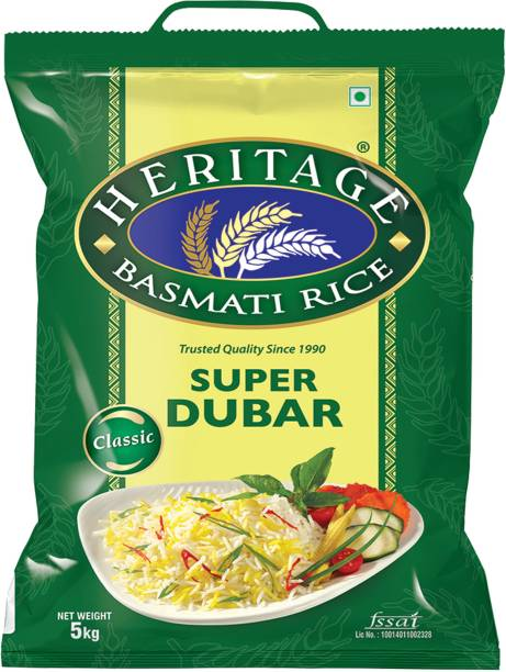 Heritage Super Dubar Basmati Rice (Medium Grain)