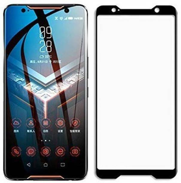 CASEHUNT Edge To Edge Tempered Glass for Asus ROG Phone 3, Asus ROG Phone 2