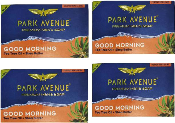 PARK AVENUE GOOD MORNING TEA TREE OIL +SHEA BUTTER ALOE VERA 4X125 GM