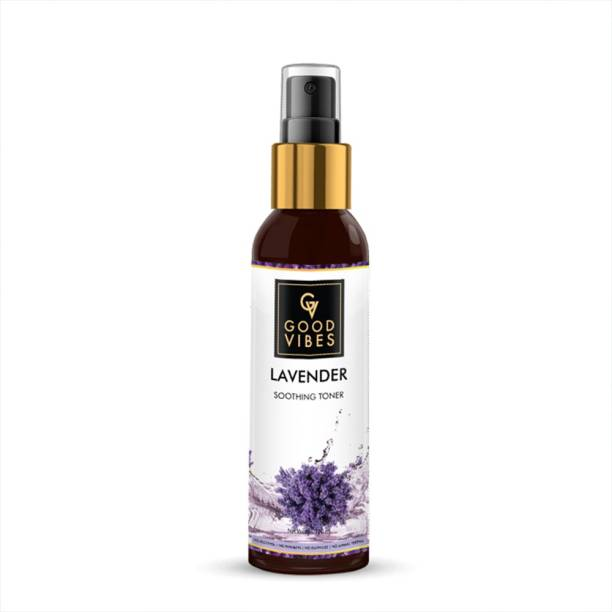 GOOD VIBES Lavender Soothing Toner (120 ml) Men & Women