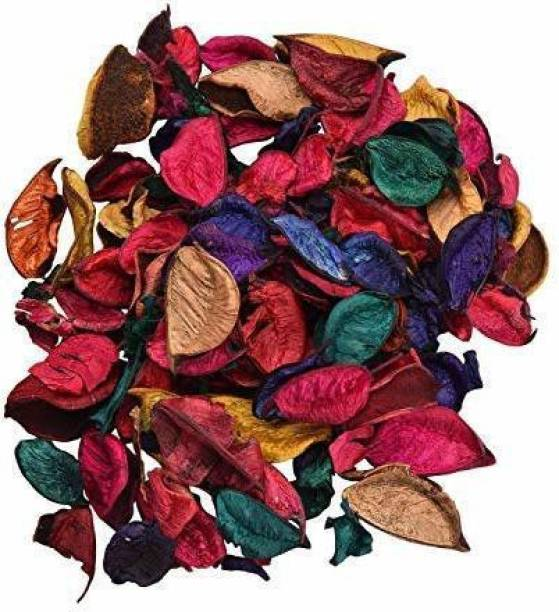 sakoraware Potpourri Artificial Flower Dried Petals Leaves for Home Decor, Table/Pot decoration Party Decoration (200 Gm, Multicolor) Vase Filler