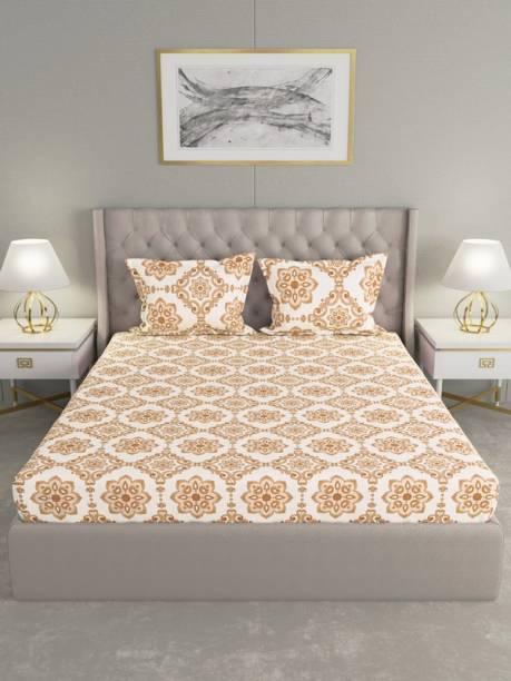 Raymond Home 120 TC Cotton Double Motifs Bedsheet