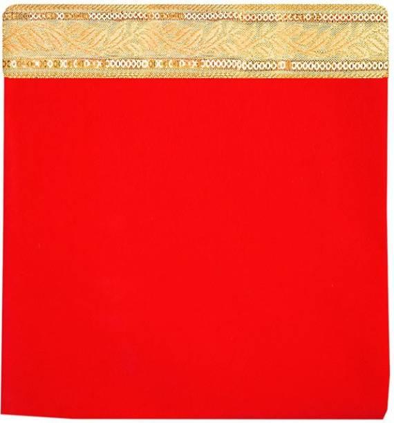 onilu Pooja chowki aasan / Pooja kapda for aasan 46x46cm Pooja aasan kapda pack of 1 Altar Cloth