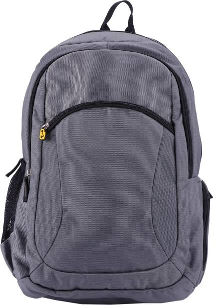 QIPS H.M.INTERNATIONAL HIGH QUALITY SOLID COLOUR BACKPACK - HMHMBP 1061-QIP (GRAY) 42 L Laptop Backpack