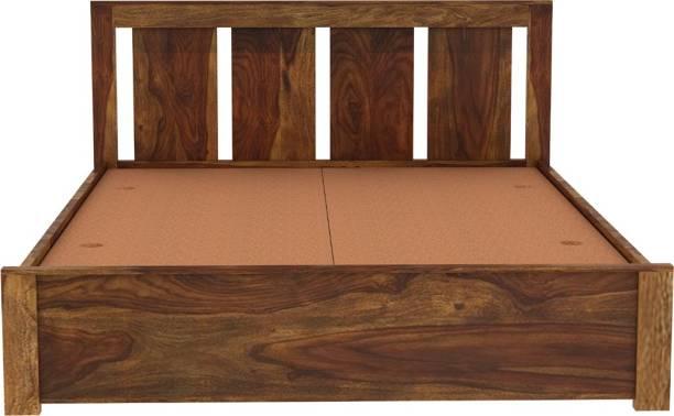 Vintej Home Florentine Sheesham Solid Wood Queen Bed