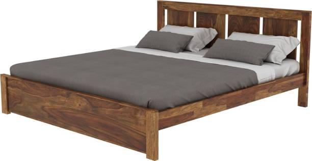 Vintej Home Florentine Sheesham Solid Wood King Bed
