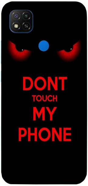 Raydenhy Back Cover for Mi Redmi 9 Printed Don'T Touch My Phone