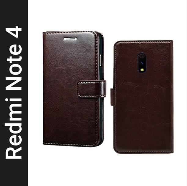 Spicesun Flip Cover for Mi Redmi Note 4