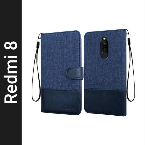 Febelo Flip Cover for Mi Redmi 8
