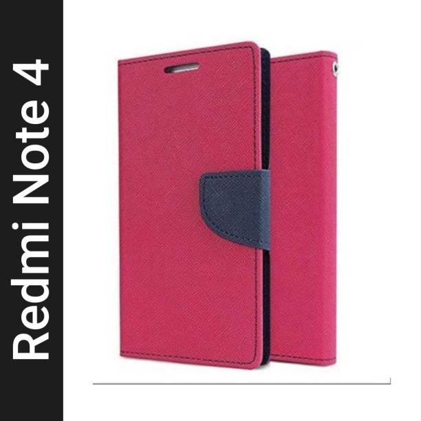 Frequently Flip Cover for Mi Redmi Note 4