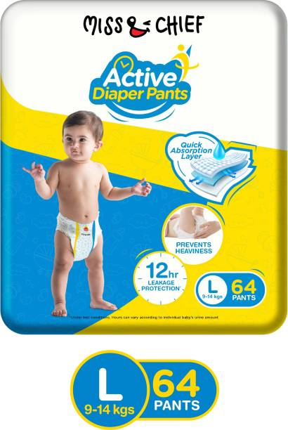 Miss & Chief Active Diaper Pants - L