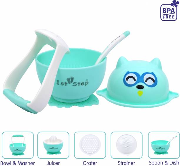 1st Step 5 in 1 Manual Baby Food Maker And Processor