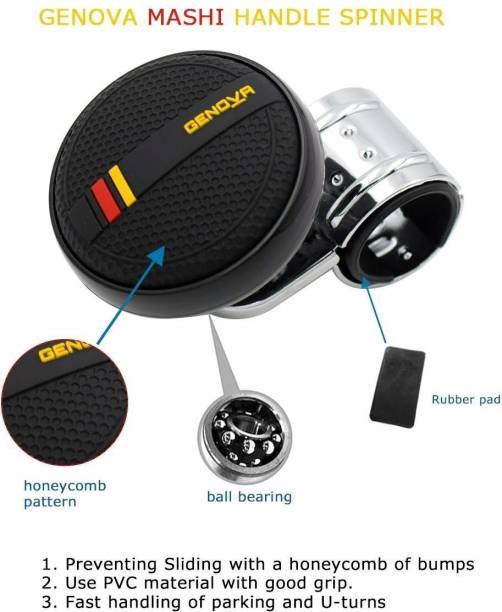 Cloudsale ABS Plastic, Leather Car Steering Knob