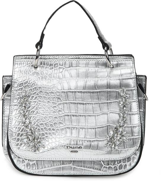 Dune London Women Silver Sling Bag
