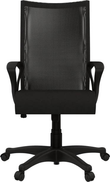 Godrej Interio Oxbo High Back Fabric Office Arm Chair
