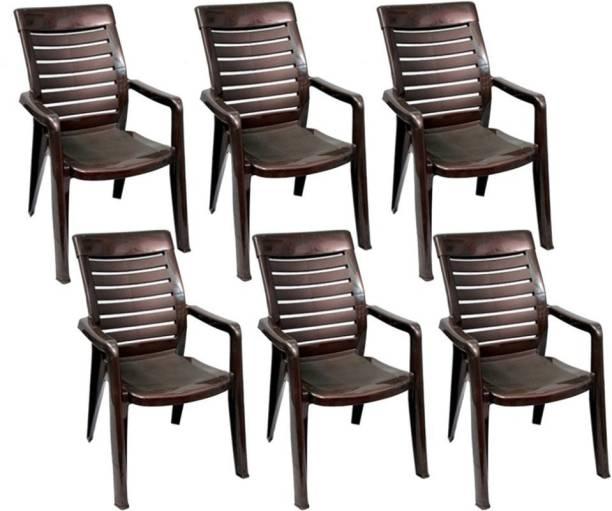 Nilkamal nilkamal 2180 4pc Plastic Outdoor Chair