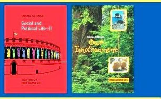 NCERT BOOK FOR CLASS-VI (7th) GEOGRAPHY And POLITICAL SCIENCE IN COMBO PACK