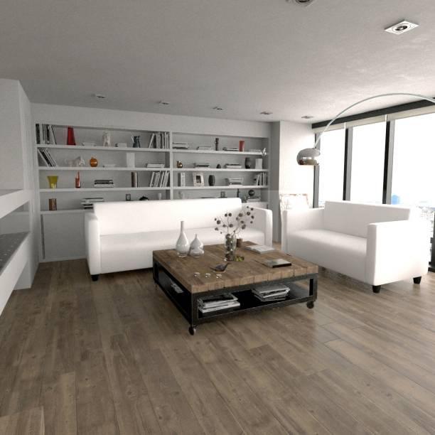 Sekar Lifestyle Box Series Leatherette 3 + 2 White Sofa Set