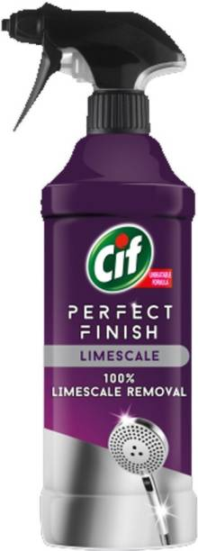 Cif Perfect Finish Limescale Remover 435ml Regular Spray Toilet Cleaner