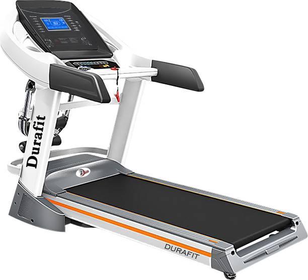 Durafit Ranger Multifunction 3.5 HP (Peak 7.0 HP) DC Motorized Foldable Treadmill