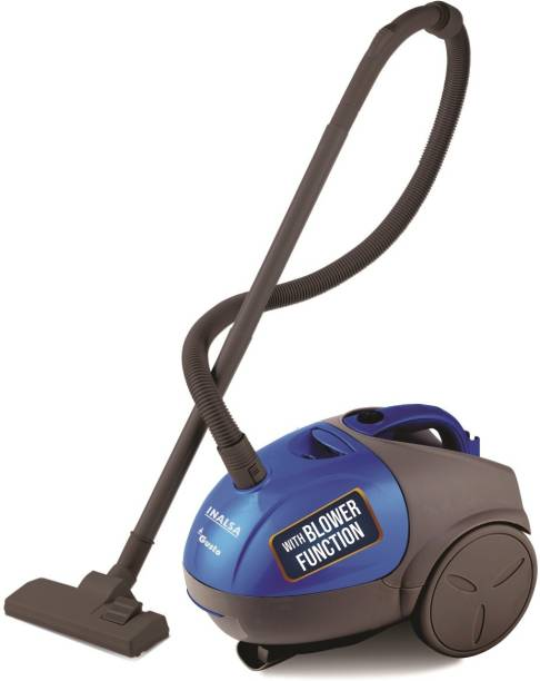 Inalsa Gusto Dry Vacuum Cleaner with Reusable Dust Bag