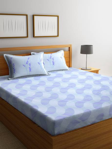Bombay Dyeing 160 TC Cotton Double Abstract Bedsheet