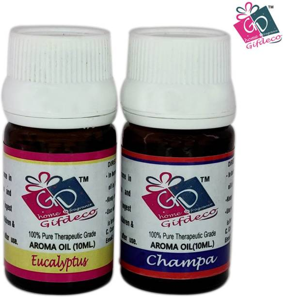 GIFDECO EUCALYPTUS, CHAMPA Aroma Oil, Refill