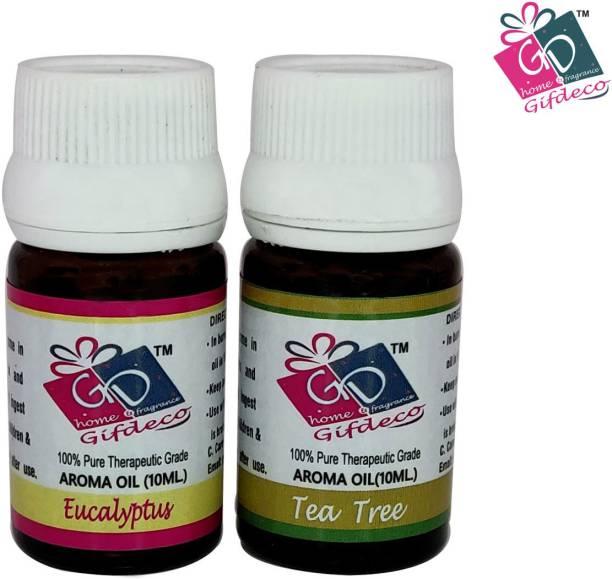 GIFDECO EUCALYPTUS, TEA TREE Aroma Oil, Refill