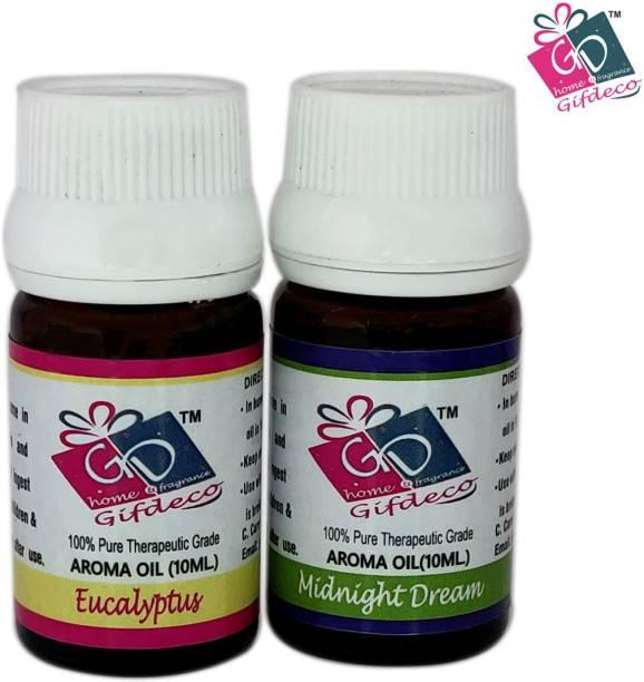 GIFDECO EUCALYPTUS, MIDNIGHT DREAM Aroma Oil, Refill
