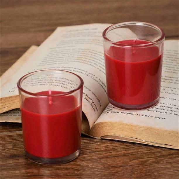 Flipkart SmartBuy Red Rose Votive-P2 Candle
