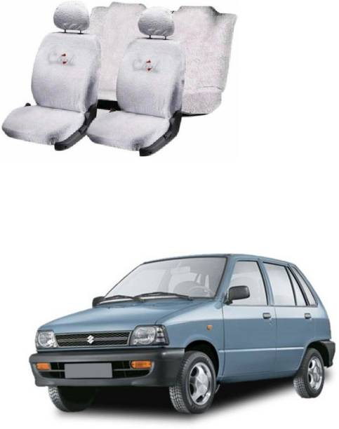 JMJW & SONS Cotton Car Seat Cover For Maruti 800