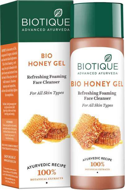 BIOTIQUE Bio Honey Gel Refreshing Foaming Face Cleanser 190Ml