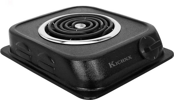 Kitchnx 1250-W Black Electric Cooking Heater
