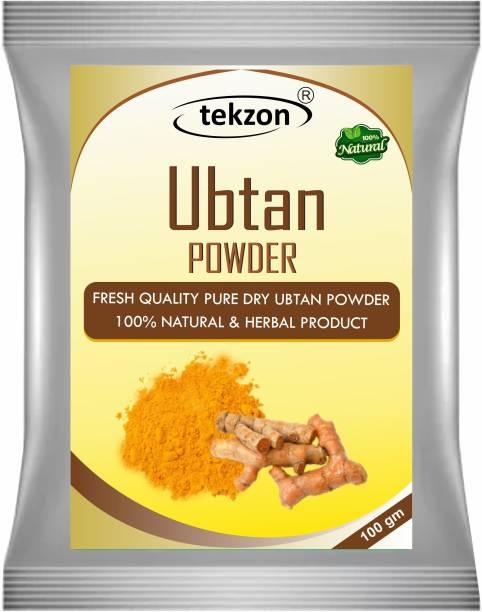 tekzon Ubtan Face Pack Powder - Face & Body Scrub For Removing Skin Tan, Glowing, Shinier & Radiant Skin