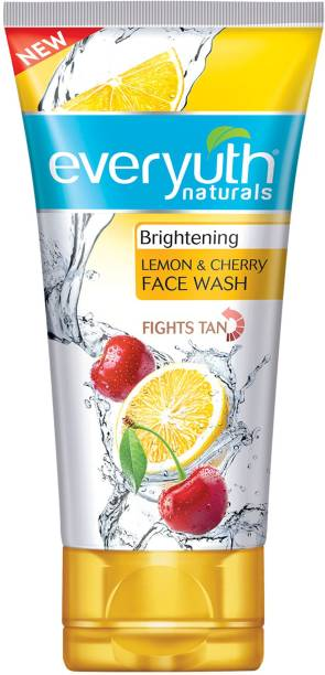 Everyuth Naturals Brightening Lemon and Cherry Face Wash