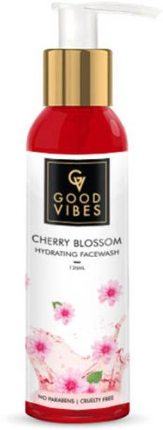 GOOD VIBES Hydrating  - Cherry Blossom Face Wash