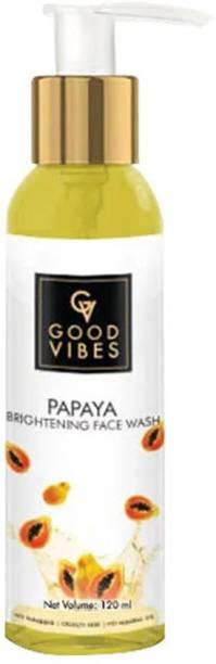 GOOD VIBES Brightening  - Papaya Face Wash